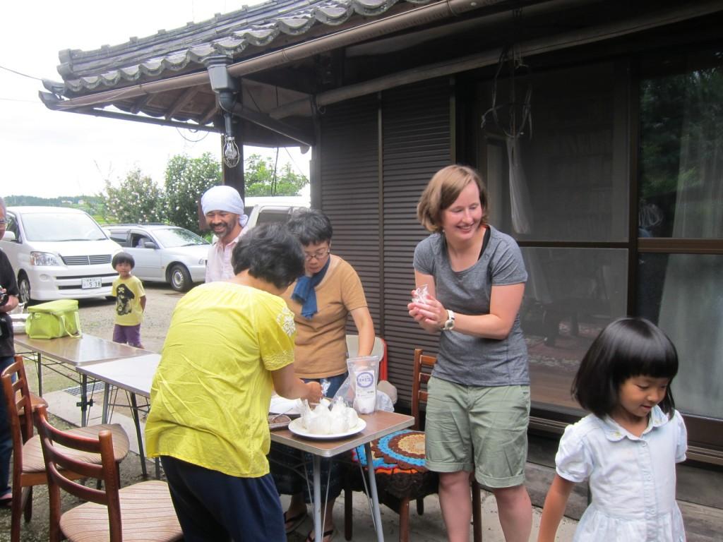 恵那国際ボランティア歓迎会1