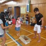 小学校でボランティア