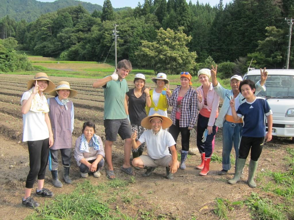恵那ボランティア農作業2